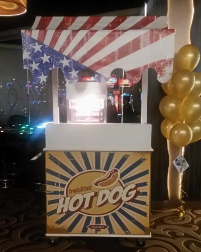 Hotdogkar huren in regio Goes